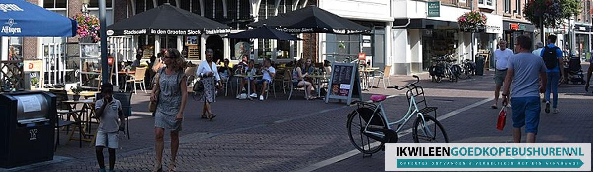 Goedkoop een bus of touringcar huren in Amersfoort