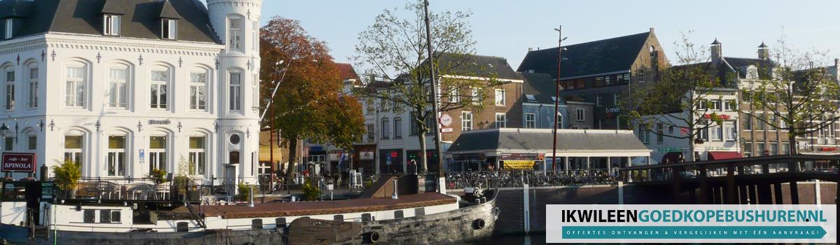 Goedkoop een bus of touringcar huren in Breda