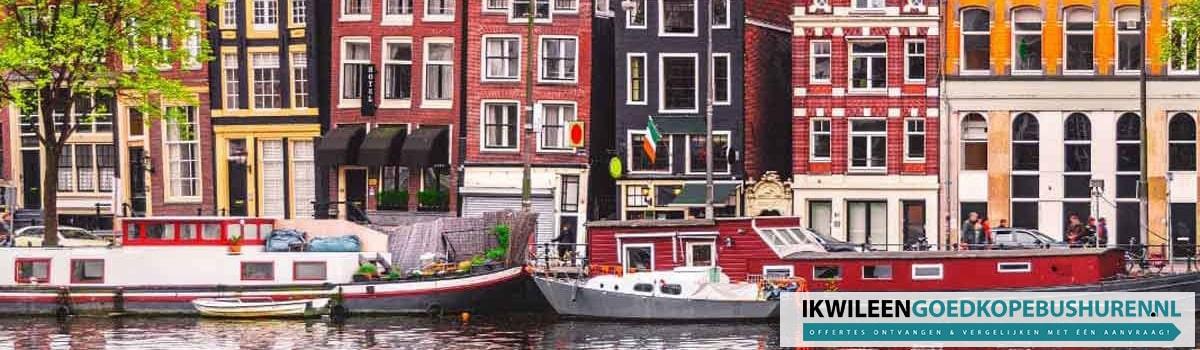 Goedkoop een bus of touringcar huren in Amsterdam