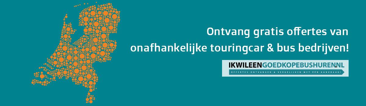 Huur een bus of touringcar vanaf binnen of buitenland!