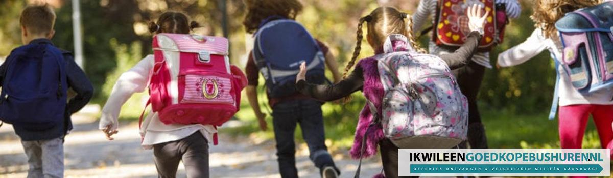 Schoolreis bus huren provincie Utrecht